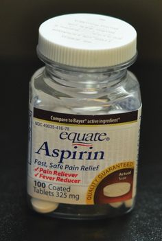 The Aspirin Mask - works wonders on your face. Salicylic acid helps clean out pores and battle acne. All you need is water & 3 aspirin tablets. You can also add honey if you want a binding agent.