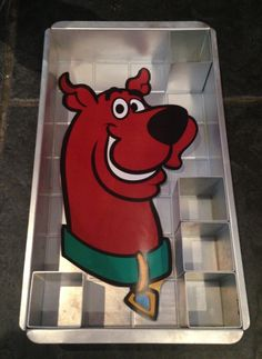 Scooby cartoon network birthday cake nombre doo rob c mo for Scooby doo cake template