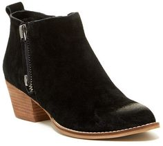 Cute boots at Nordstrom Rack! Great price! Dolce Vita Saira Zipper Ankle Boot