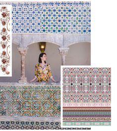 Autumn/Winter 21/22 Print Trend - Decorative Borders - Patternbank Ethnic Trends, Flow Design, Decorative Borders, Textiles, Simple Prints, Ethnic Patterns, Home Decor Trends, Color Trends, Fall Winter