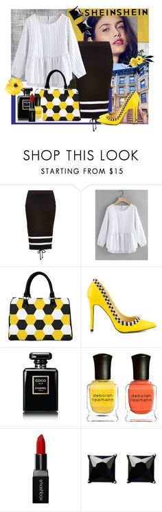 """WORKDAY"" by jckallan ❤ liked on Polyvore featuring Paul Frank, Puma, TaylorSays, Chanel, Deborah Lippmann, Smashbox and Witchery"