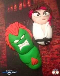 Street Fighter hand-made!
