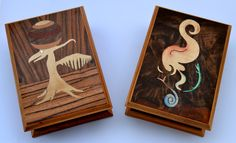 """Inlay boxes"" Wooden Inlay, 2015 (20x15 cm)"