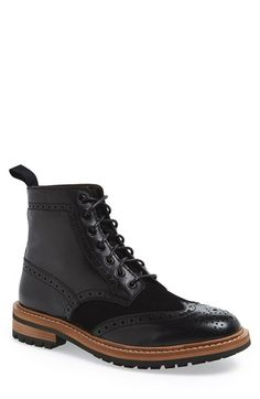 1901+'Kingman'+Wingtip+Boot+(Men)+available+at+#Nordstrom