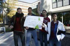Fredag 18.10 ble det arrangert konkurranse for Ungdomsbedrifter i Næringslivets hus. To bedrifter fra Lambertseter VGS kjempet om seieren.