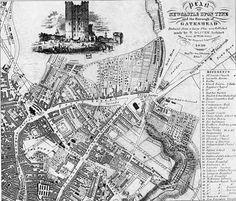 Old map of Gateshead 1938 North East England Maps Pinterest