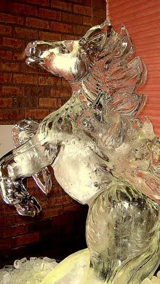 Stallion Ice Sculpture