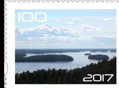 Kuvahaun tulos haulle juhlapostimerkit > Suomi 100 vuotta