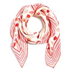 Love this Silk Lip Service Scarf for $68 on C. Wonder
