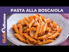 Pasta Sauces, Pasta Dishes, Penne, Carrots, Paella, Vegetables, Cooking, Recipes, Italian Language