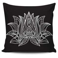 Lotus Pillow Cover
