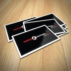 Nerd Patrol Gloss Paper Stickers Size 100x50mm  #ozstickerprinting #glosspaperstickers #glossystickers #glosssticker #glosspaper #stickers #stickerprinting #ozstickers #sydneystickers #austickers #stickerau