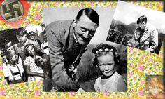 Adolf Hitler posing with smiling children. Fidel Castro, The Third Reich, Vladimir Putin, World Leaders, Barack Obama, Poses, Smile, Children, Pictures