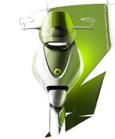 Smart E Scooter Concept