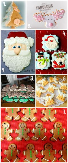 Christmas in July Cookie Collage-A Fun New Tradition with thebearfootbaker.com