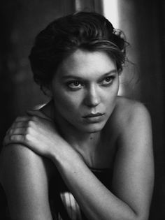Lea Seydoux by Peter Lindbergh - Interview Mag - September 2014