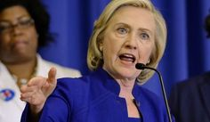 In this May 27, 2015, file photo, Democratic presidential candidate, former Secretary of State Hillary Rodham Clinton speaks in Columbia, S.C. (AP Photo/Richard Shiro, File)