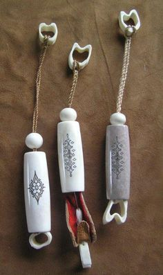Reindeer Antler Needle Case - Kellam Knives Worldwide, Inc. - Finnish Puukko Knives and Products