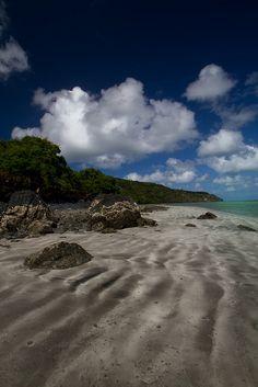 Shoreline, south Mayotte island