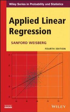 Applied linear regression / Sanford Weisberg