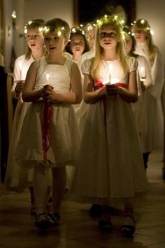 A Toast to Sweden on Santa Lucia Day | St. Lucia Day in Iceland