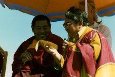 Jigme Phuntsok Rinpoche and Sogyal Rinpoche