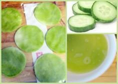 Puffy Eyes? Make These Frozen Cucumber Compresses. Vitamin K + Hydration combine to banish dark circles, puffiness, and inflamed capillaries.