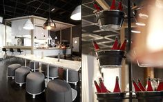 Autogrill restaurant by Creneau Int., Brussels   Belgium restaurant bar