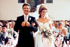 "Shelby Eatenton's wedding dress from ""Steel Magnolias""."