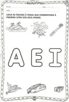 atividades infantis com as vogais divertidas