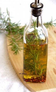 Rosemary, Basil, Thyme, Lemon, Herbs de Provence are delicious infused with grapeseed or olive oil.