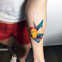 adventure time tattoo