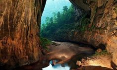 I remember visiting parts of Phong Nha-Kẻ Bàng National Park in Vietnam. I didn't realize the largest cave in the world was nearby. Amazing pictures in this article, so pristine.