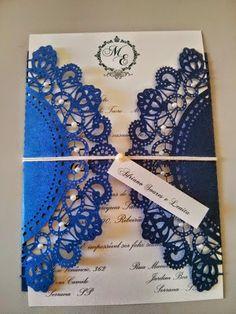 Dolce Far Niente: Convite de Casamento Rendado
