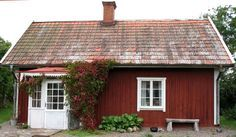 swedish stuga style garden room - Google Search