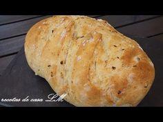 Receta Pan de ajo con mozzarella para compartir - Recetas de cocina, paso a paso, tutorial - YouTube