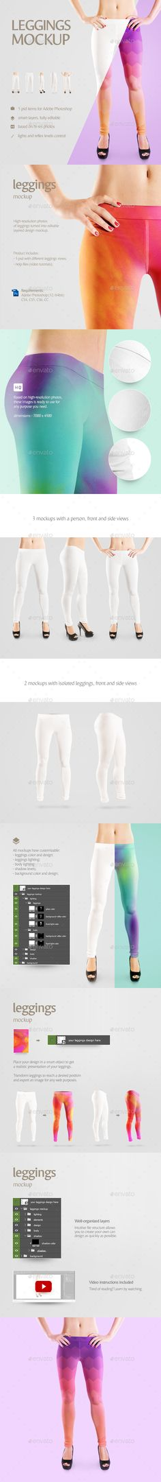 #Leggings #Mockup - Miscellaneous Apparel