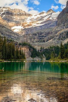 At the Lake O'Hara in Yoko National Park - Canada.