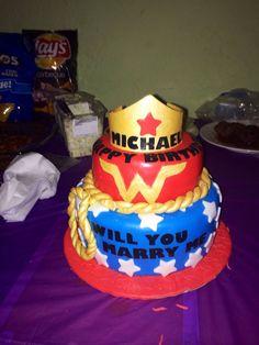 Wonder Women Cake