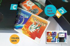 Pokemon sun and moon neue EVA hard Tasche +FOLIEN-SKIN für NEW3DSLL