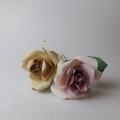 Customised flowers like these are available to order on request. Paper Flowers, Stud Earrings, Ear Gauge Plugs, Stud Earring