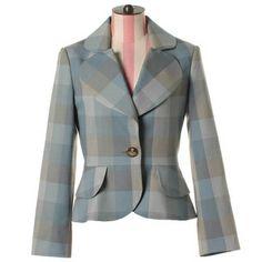 Stretch gabardine jacket Love