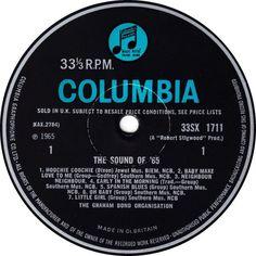 The Graham Bond Organization - The Sound Of ' 65 - Columbia - UK