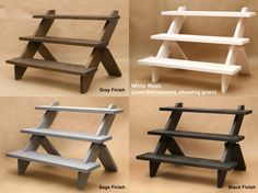 3-Tier Display Shelf / Display Riser / Store Display / by USAVECO