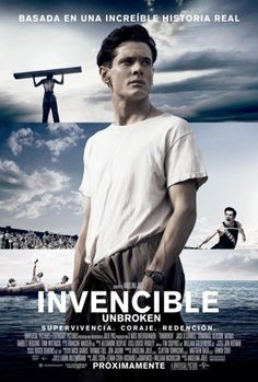 """Película: """"Inquebrantable / Invencible (Unbroken) (2014)"""""""