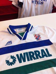 Tranmere Rovers 1995-97 Mizuno / Wirral John Alldridge Tranmere Rovers, Super White, Football, Jackets, T Shirts, Soccer, Down Jackets, Futbol, Tranmere Rovers F.c.