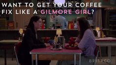 What Gilmore Girls fan doesn't want to have coffee from Luke's Diner IRL?!