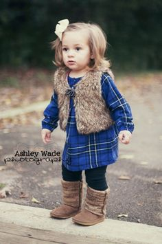 I can't wait till I have my own baby girl to dress up!