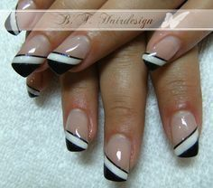 Gel Nail Art, Nail Manicure, Toe Nails, Acrylic Nails, Nail Polish Designs, Nail Art Designs, Nagellack Trends, French Tip Nails, Nails For Kids