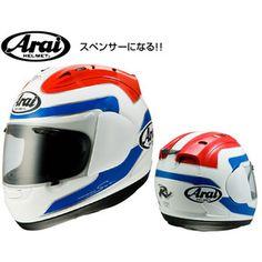 Arai RX-7 RR5 SPENCER フルフェイス ヘルメット フレディ スペンサー レプリカ 1983-赤/白/青(トリコロール)
